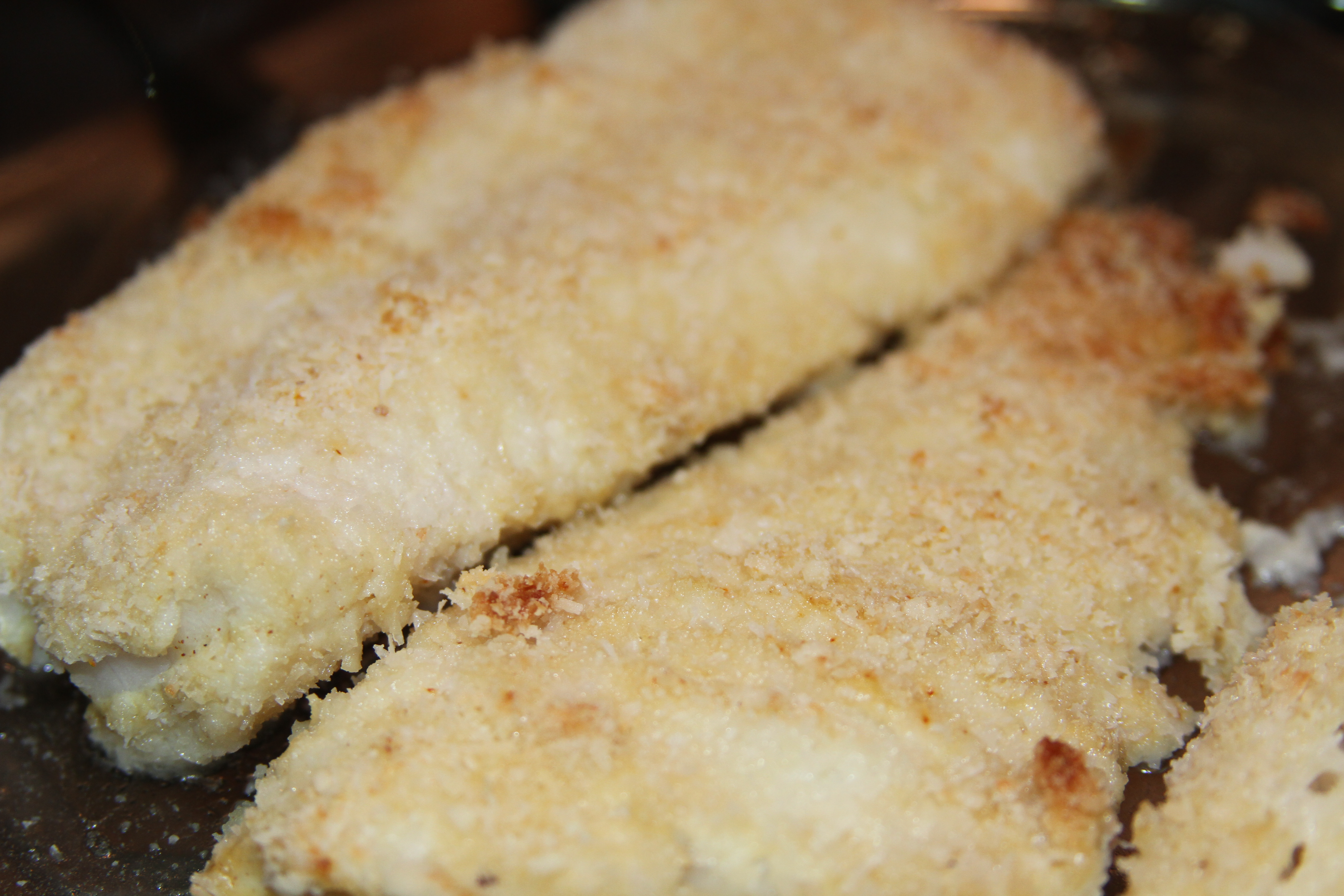 Coconut Crusted Fish | Smart Meals Weblog